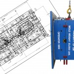 2D Plan View Drawing overlay hanging mould